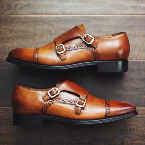 monk strap skor herr
