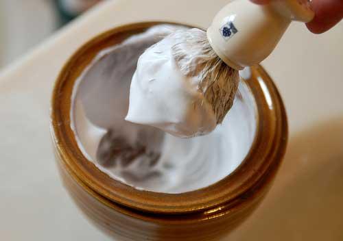 Raklödder minskar irriterad hud efter rakning