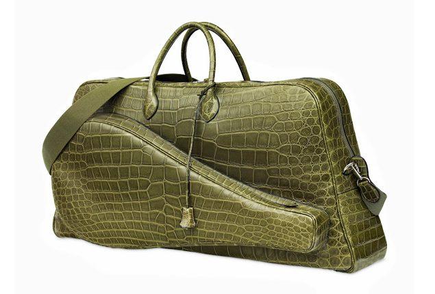 Väska av Lacoste & Hermès