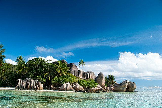 Seychellerna - Anse Source d'Argent, La Digue Island