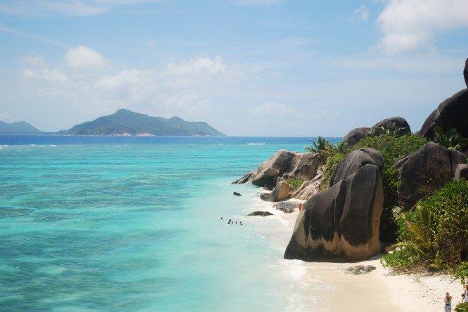 Seychellerna - Grande Anse Beach, La Digue Island