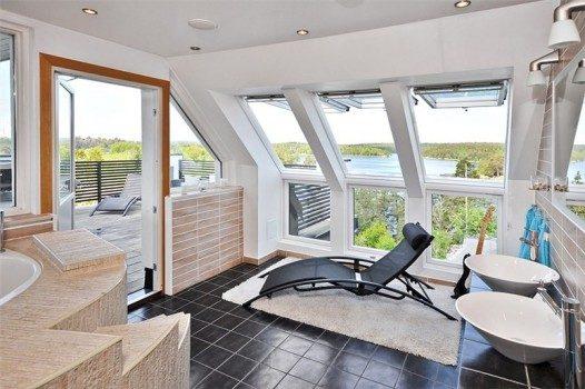 Sparum med utsikt över Öringesjön