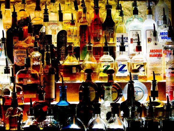 Alkoholkonsumtion per världsdel