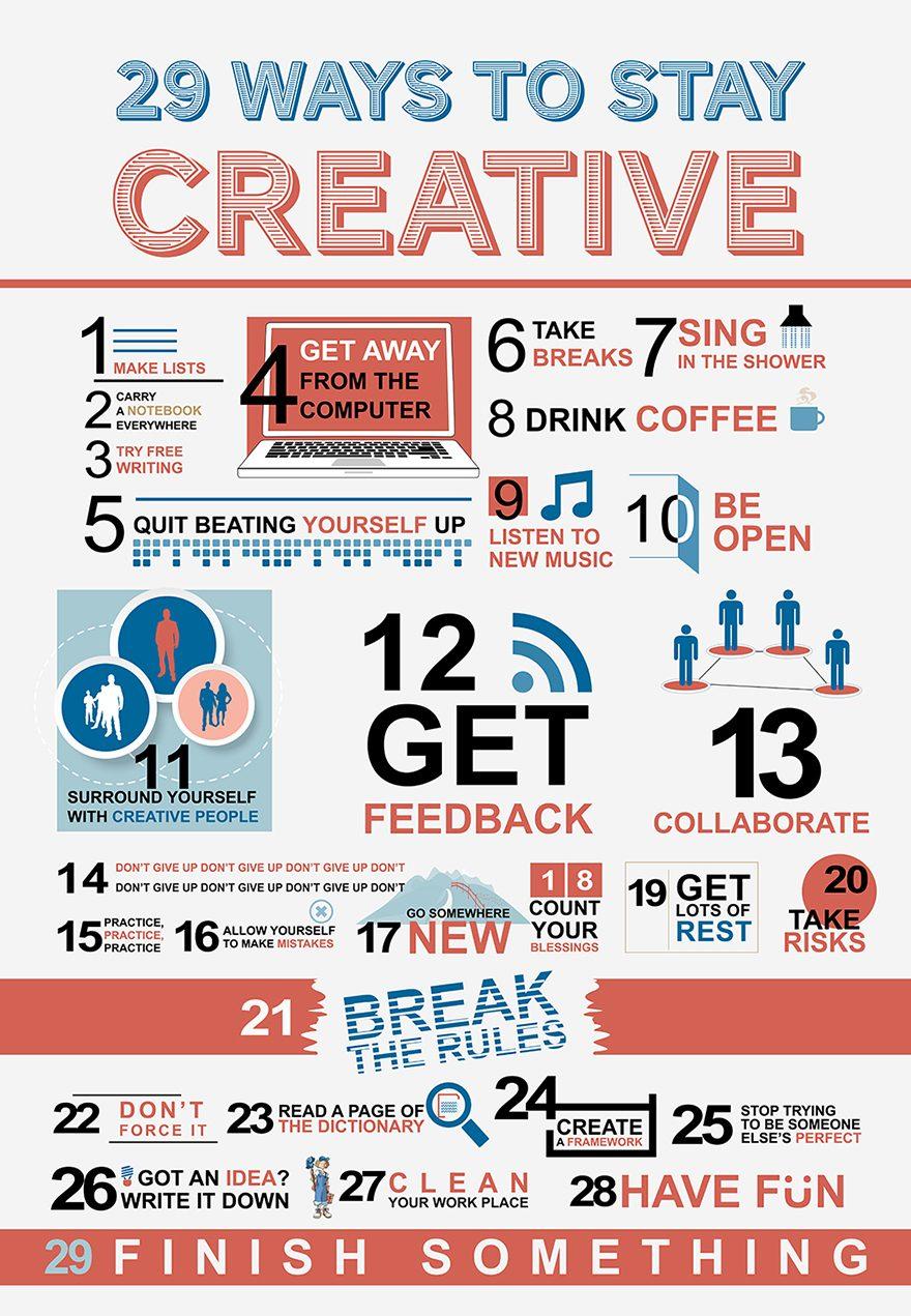 Bli mer kreativ
