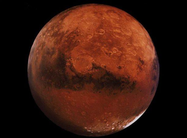 Gigapixelbild på Mars
