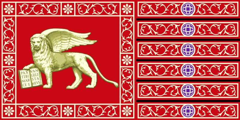 venedigs flagga