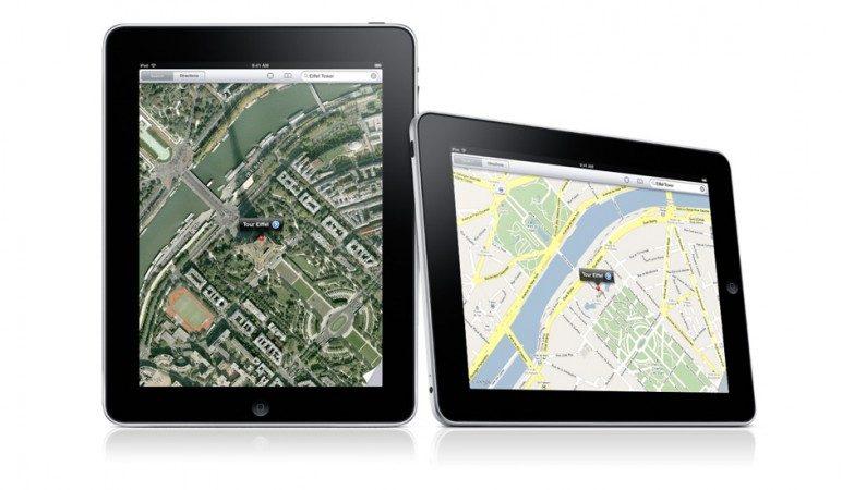 Google Maps för iPad