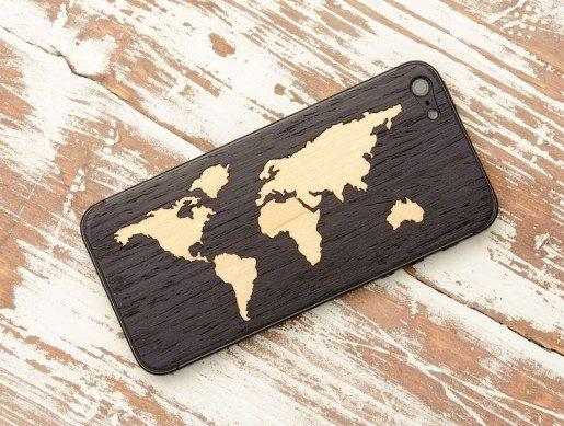 iPhoneskal i trä