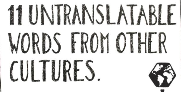 Mångata och Ej översättbara ord