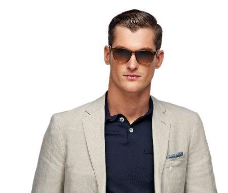 Stiltips Herr- Beige kostym