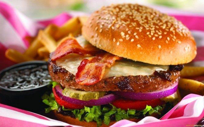 En perfekt hamburgare
