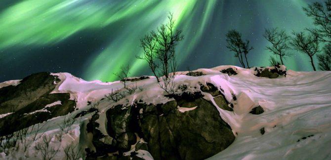 Grönt Norrsken