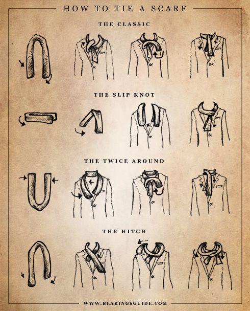 Hur knyter man en Scarf / Halsduk?