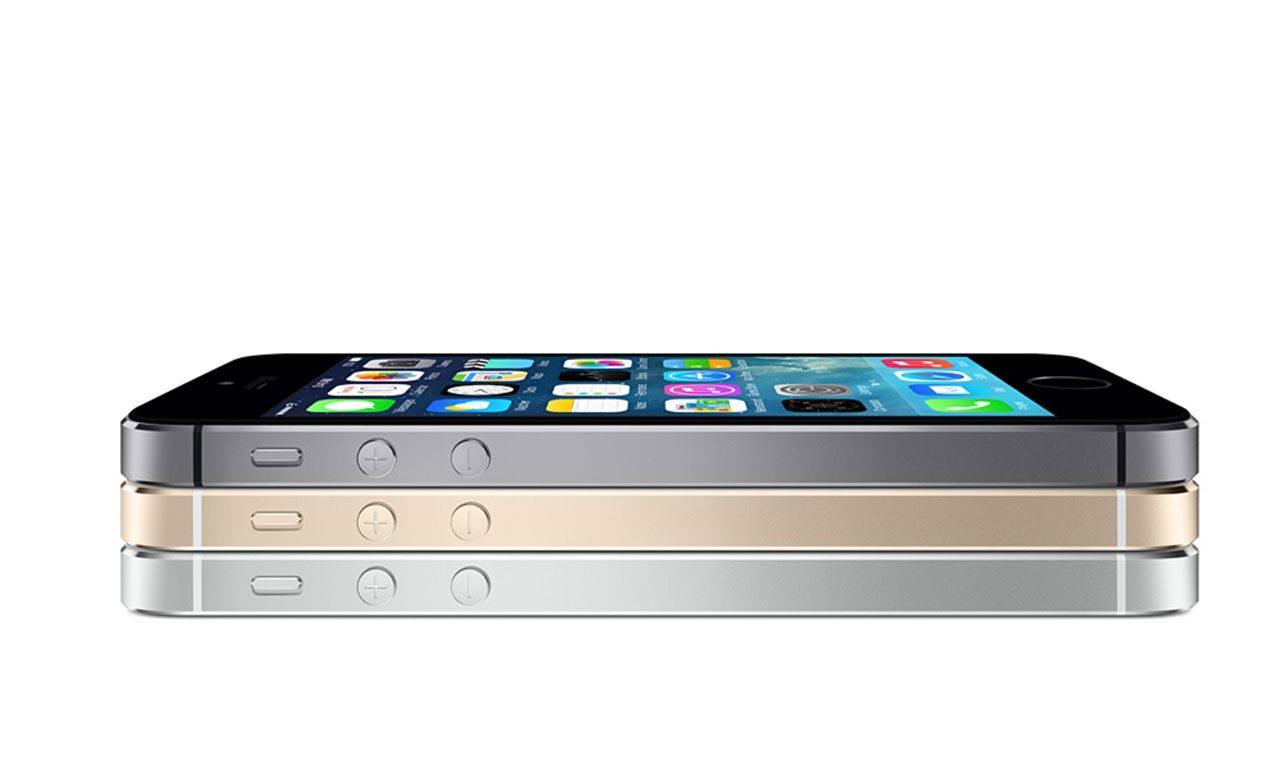 De 3 olika färgerna på iPhone 5s
