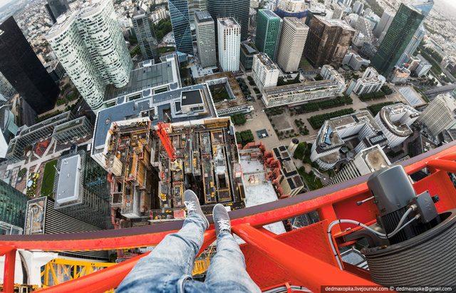 Urban Exploration på höga byggnader