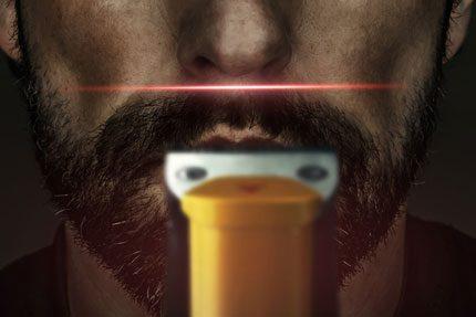 Philips BeardTrimmer 9000 - Skäggtrimmer med lasersikte