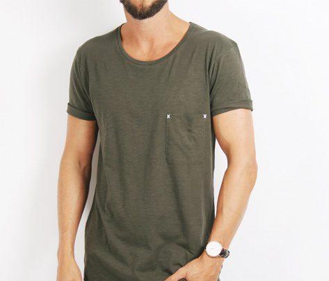 Mossgrön T-shirt