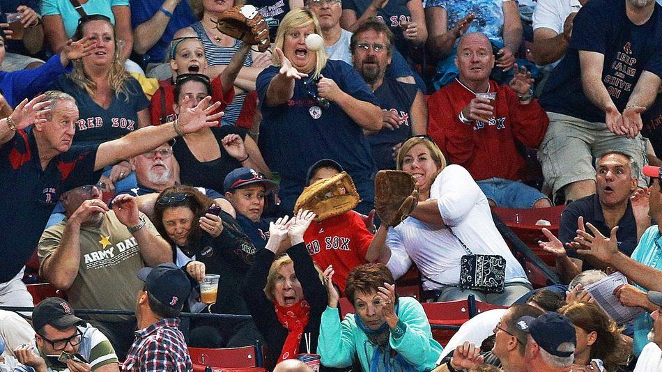 Rolig bild baseball