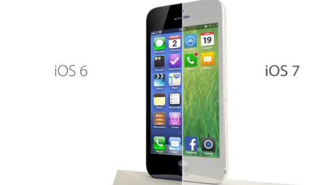 Uppdatera till iOS 7