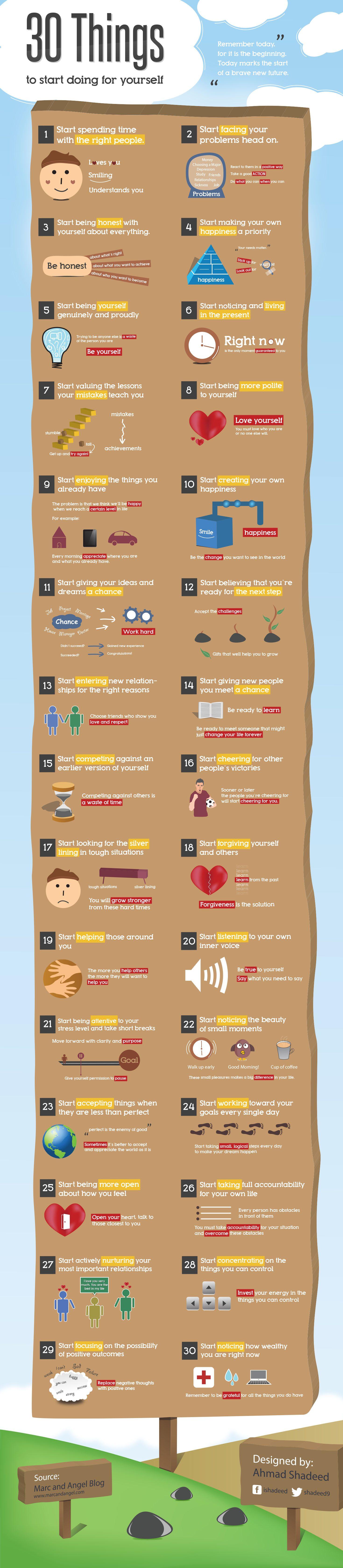 30 Saker som alla kommer förbättra ditt liv