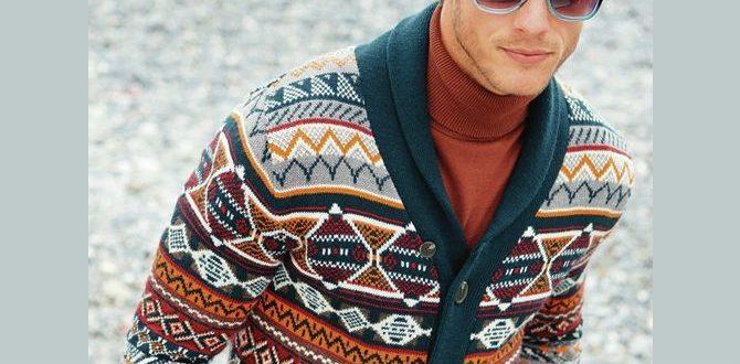 Färgglad-stickad-tröja
