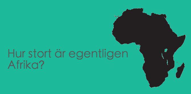 hur-stort-är-afrika