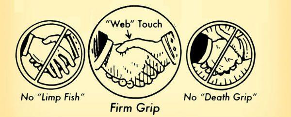 skaka hand på rätt sätt