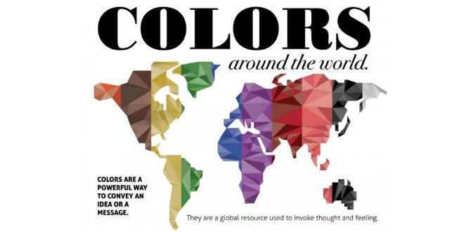 Vad betyder olika färger i olika kulturer?