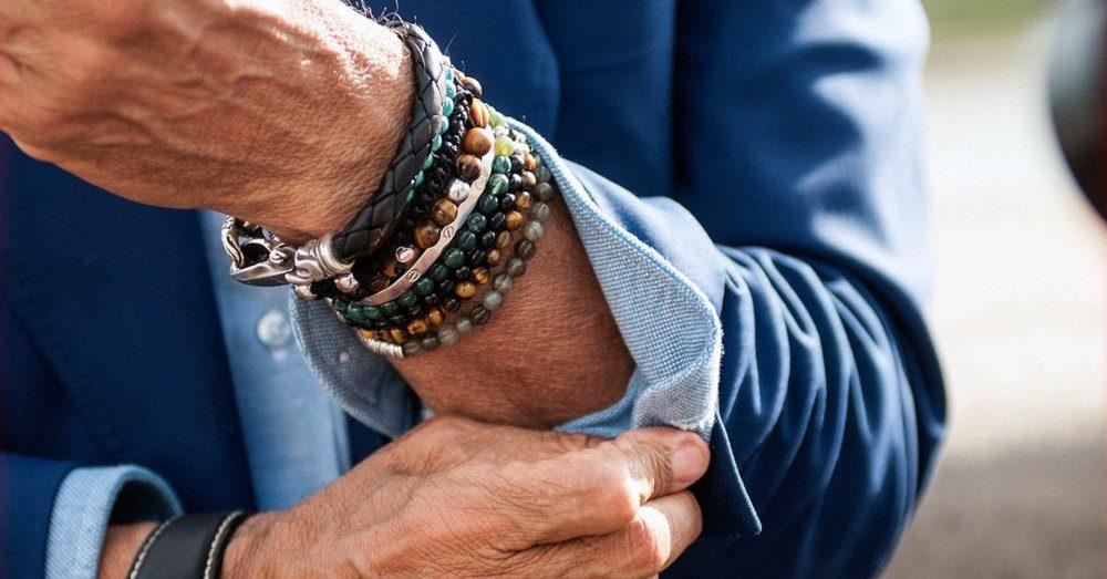armband för män stilguide