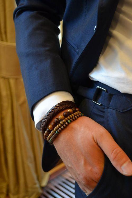 armband för män stiltips