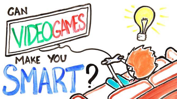 blir man smart av att spela tv spel?