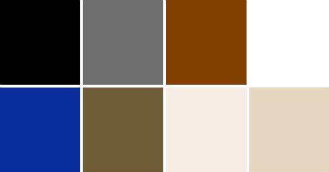 Neutrala färger färgmatcha kläder