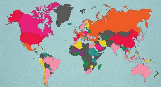 landet med mest turism