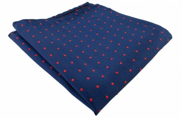 marinblå-bröstnäsduk-med-prickar