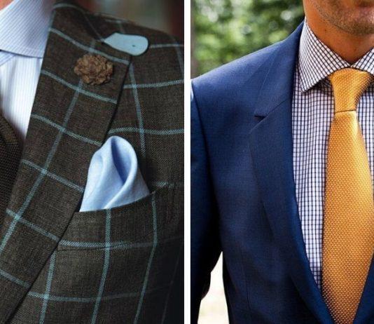 Skall Bröstnäsduken matcha Skjortan eller Slipsen