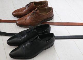 Matcha skärpet med skorna