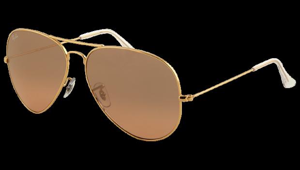 ray-ban-aviator-guld-solglasogon