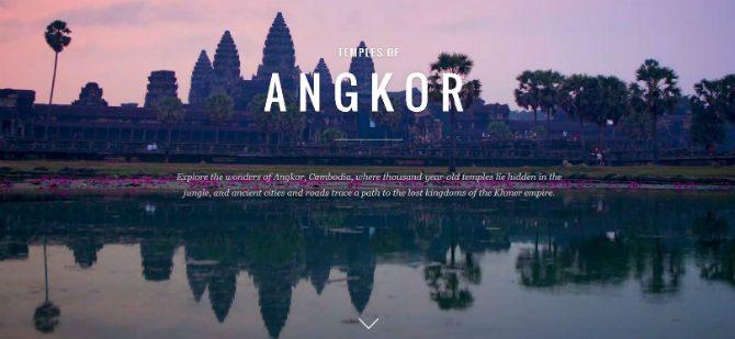 Angkor Wat i Google Street View