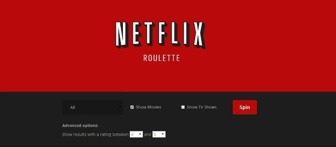 Hjälp mig välja film på Netflix