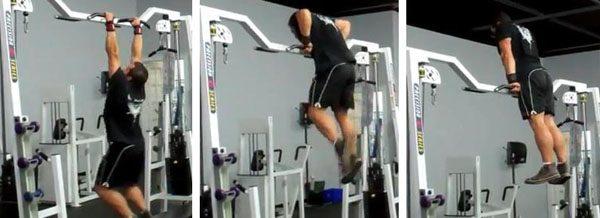 hur gör man en muscle up
