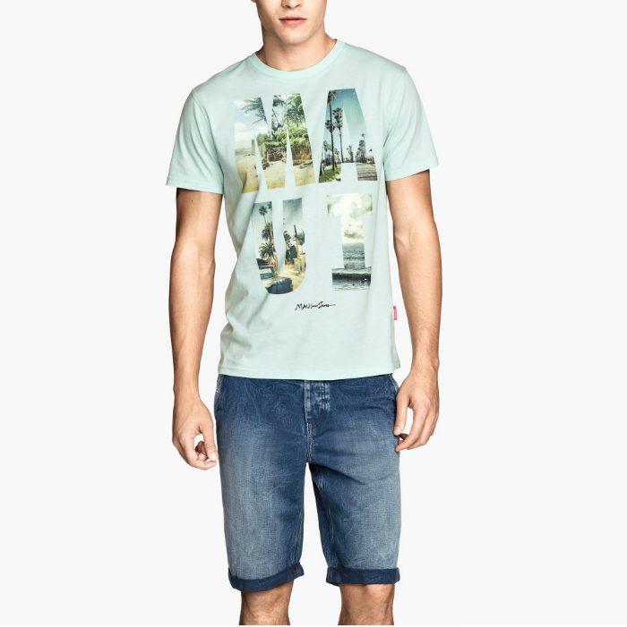 Herrshorts 2014 jeans hm