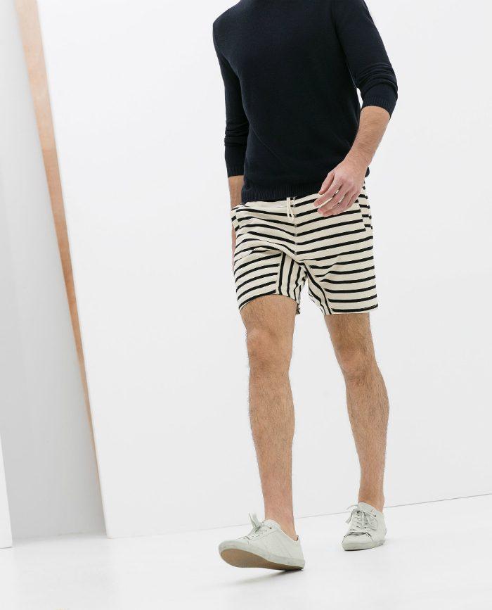 Herrshorts 2014 randiga Zara