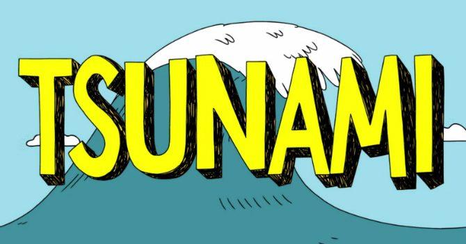 Hur uppstår en tsunami
