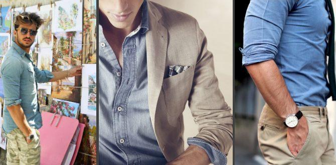jeansskjorta herr 2014