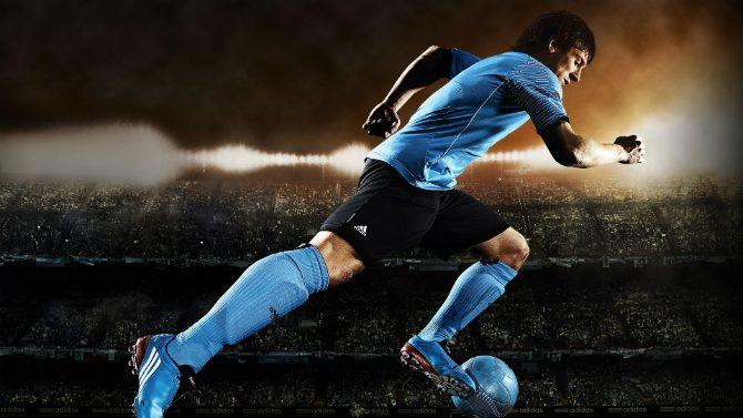 Hur långt springer en fotbollsspelare på en match