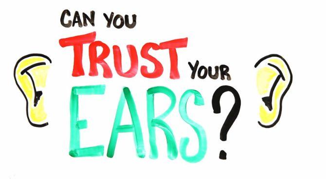 Illusioner för öronen eller höra i syne