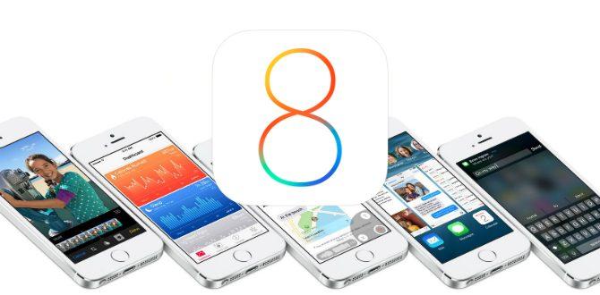 Vad är nytt i iOS 8