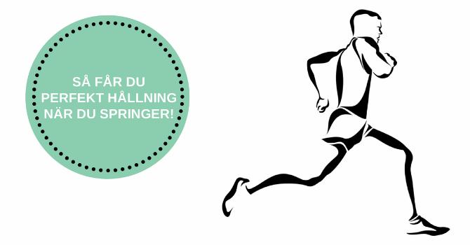 hållning vid löpning