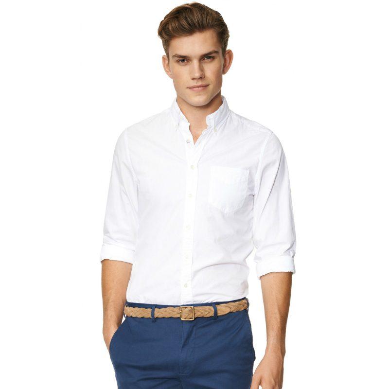 marint mode 2014 vit skjorta bomull