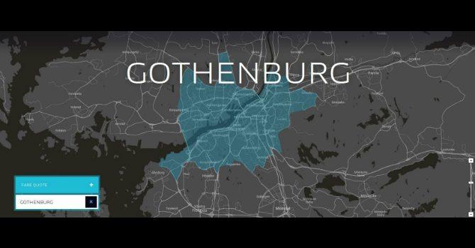 Uber i Göteborg